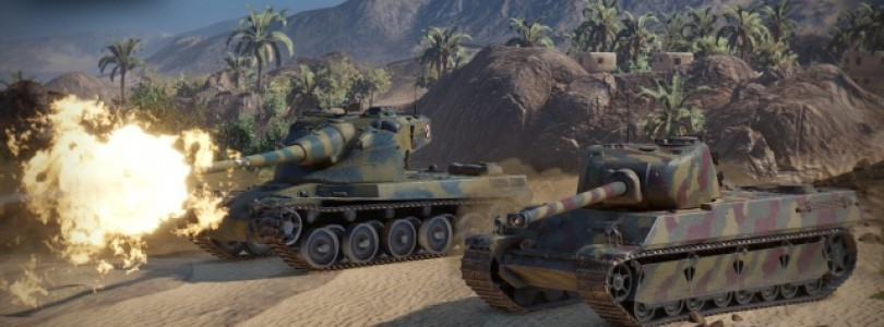 Los tanques franceses se ponen al mando en el campo de batalla de World of Tanks