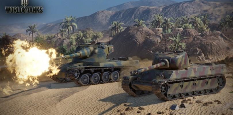 Los tanques franceses se ponen al mando en el campo de batalla de World of Tanks