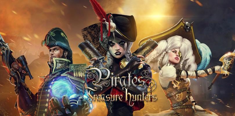 El MOBA con sello español, Pirates: Treasure Hunters, llega a Steam