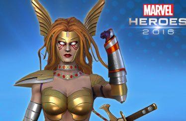 Angela se une a los héroes disponibles en Marvel Heroes 2016
