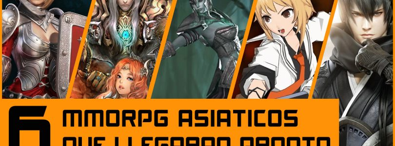 6 MMORPG asiáticos que podremos jugar proximamente