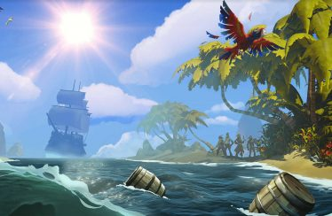 Sea of Thieves nos enseñan el desarollo de las nubes