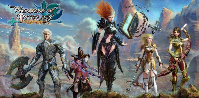Weapons of Mythology amplia su segunda beta y llega a Steam