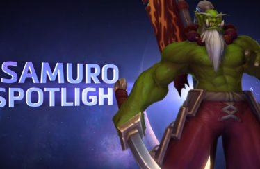 Presentación y trailers de Samuro, el nuevo heroe en llegar a Heroes of the Storm
