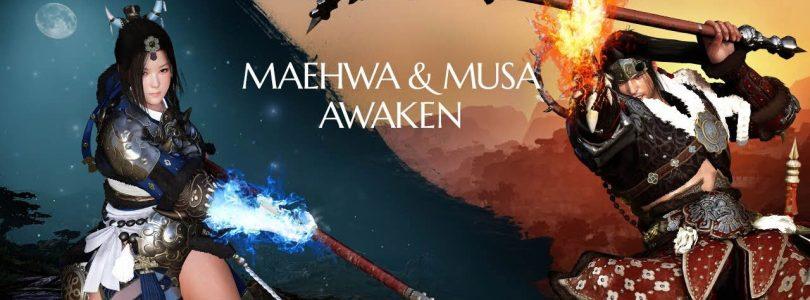 Black Desert Online – Los Awakening de Musa y Maehwa ya están aquí.