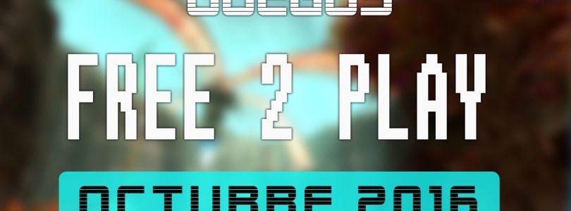 Lanzamientos Free-to-Play octubre de 2016