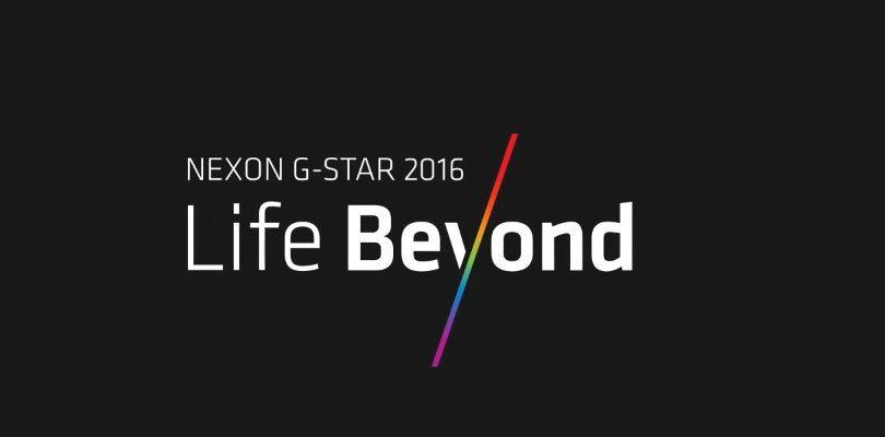 Nexon anuncia los nuevos títulos que presentara en la feria G-Star 2016.