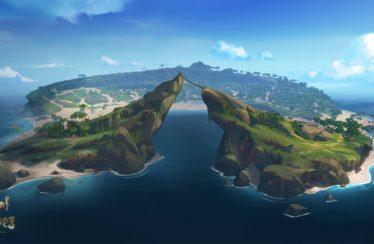 Sea of Thieves enseña la creación de las islas