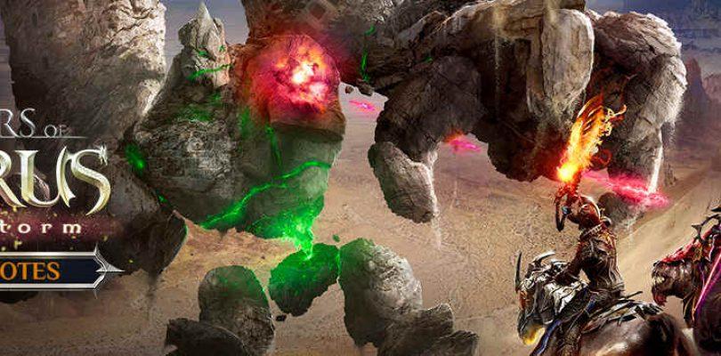 Riders of Icarus se actualiza con su parche Sandstorm