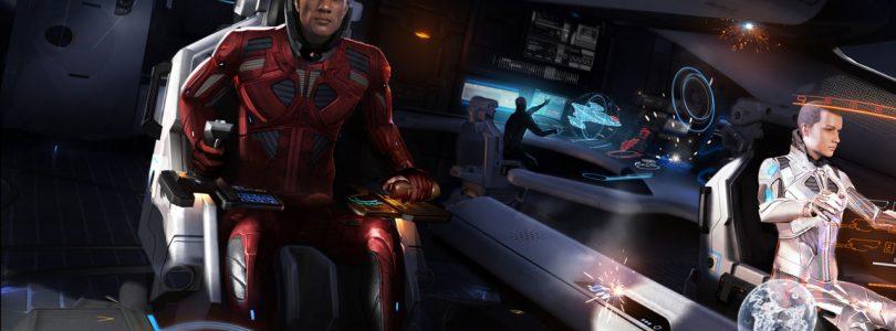 Elite: Dangerous nos dejará personalizar la cara de nuestro comandante
