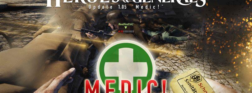 ¡Heroes & Generals se actualiza con los kits médicos!