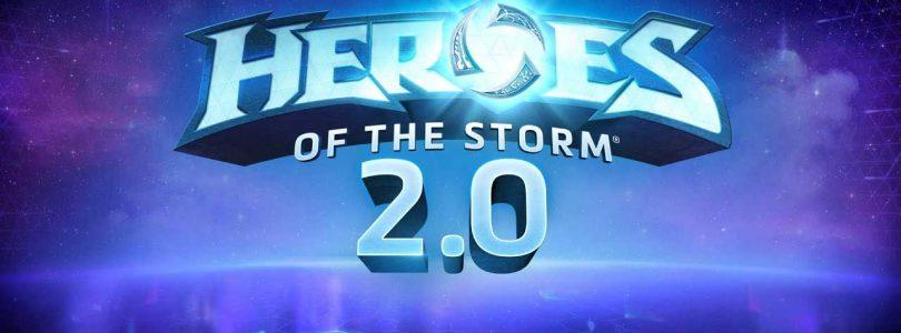 Heroes of the Storm presenta la versión 2.0 con una nueva forma de progresión y recompensas