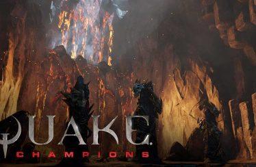 Trailer de presentación de Burial Chamber, una de las arenas de Quake Champions