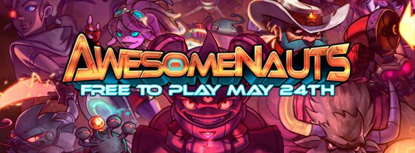 Awesomenauts ya es free-to-play en Steam