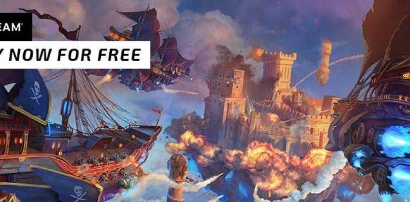 El juego free-to-play Cloud Pirates se lanza hoy de manera oficial