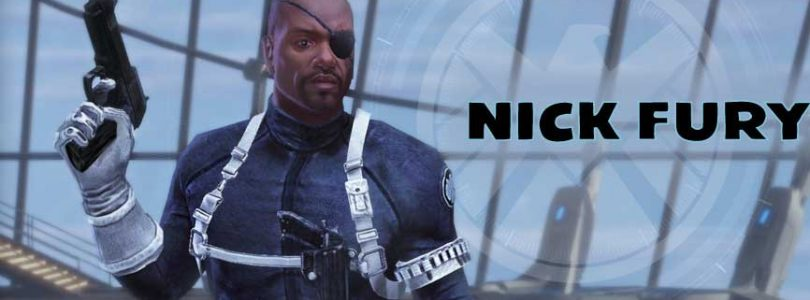Nick Fury esta ya disponible como personaje de Marvel Heroes