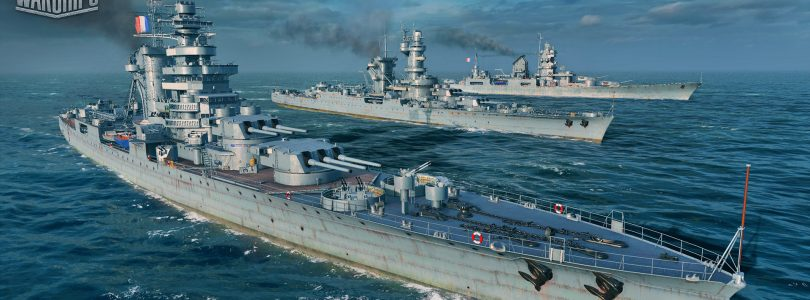 Llegan los barcos franceses a World  of Warships