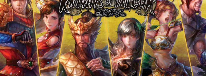 Repartimos packs de iniciación para Knights of Valour de PS4