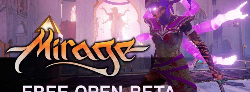 Prueba la beta abierta de Mirage: Arcane Warfare hasta el 14 de mayo