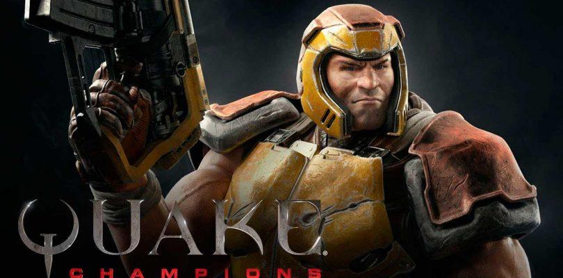 Quake Champions ya está disponible con acceso anticipado en Steam