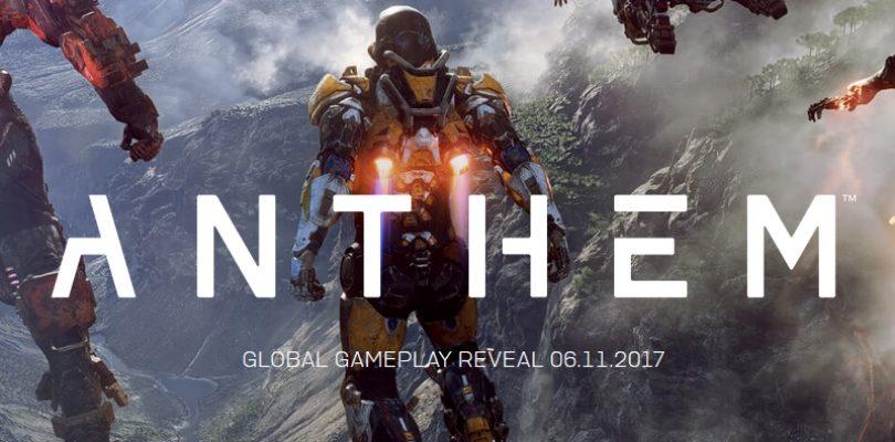 E3 2017 – Bioware nos presenta Anthem