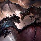 Héroes de Skyrim llena de dragones el juego de cartas The Elder Scrolls: Legends