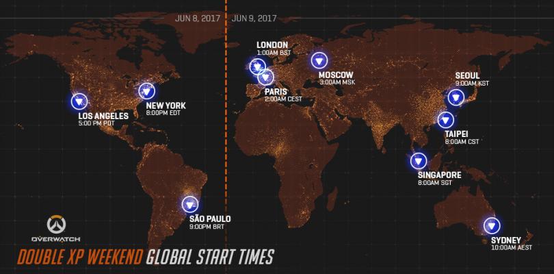 Fin de semana con doble XP en Overwatch