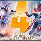 Marvel Heroes celebra el 4 aniversario con eventos ademas de mascota y Team-up de regalo