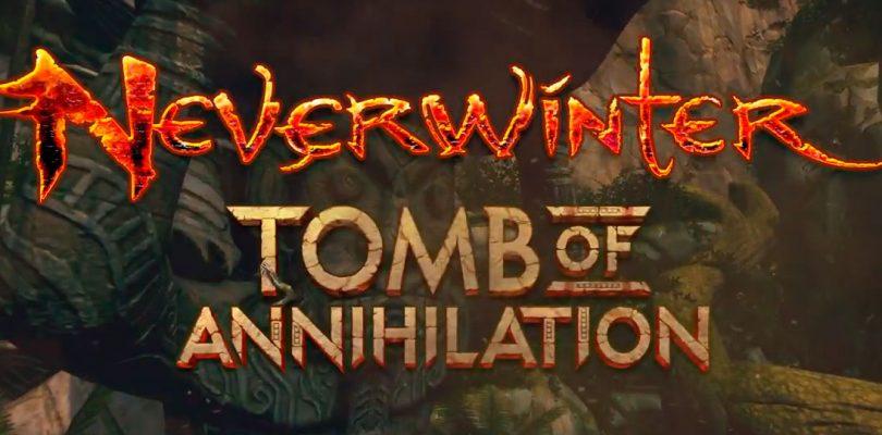 La expansión Neverwinter: Tomb of Annihilation llegará este próximo mes de julio