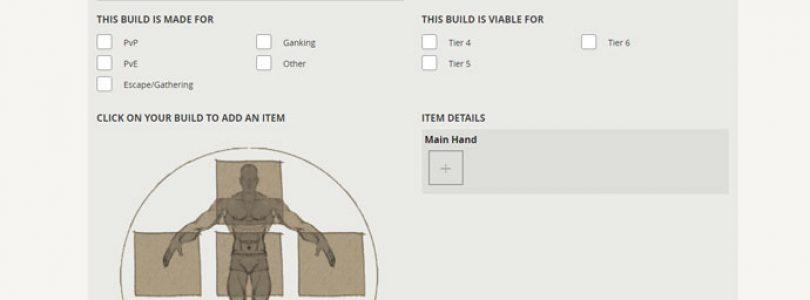 Lanzado el planificador de personajes de Albion Online