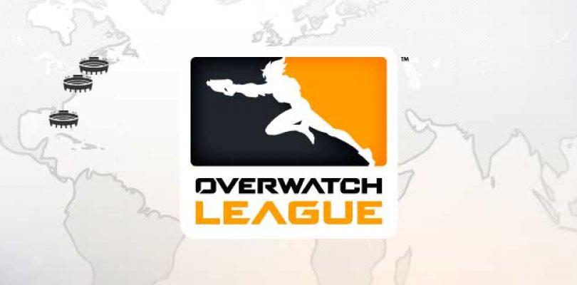 Blizzard presenta los 7 primeros equipos de la Overwatch League