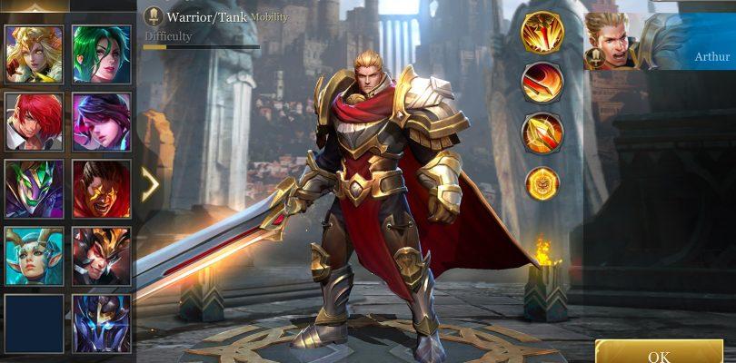 Arena of Valor, un nuevo MOBA para móviles de Tencent