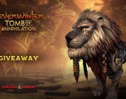 Repartimos 50 leones montura para Neverwinter: Tomb of Annihilation