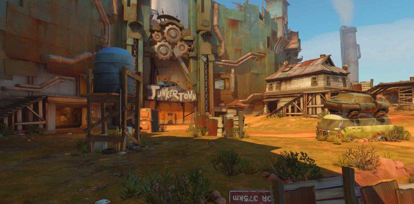 Overwatch introduce Junkertown y los cambios a Mercy y D. Va. al PTR