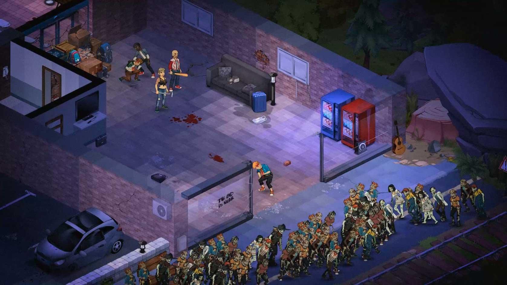 Sobrevive Al Apocalipsis Zombi En El Nuevo Mmo Dead Maze Zona Mmorpg