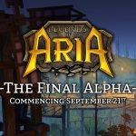 Legend of Aria fecha su última fase alpha para Septiembre