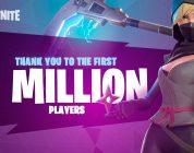 Fortnite llega al millón de jugadores y prepara el modo supervivencia