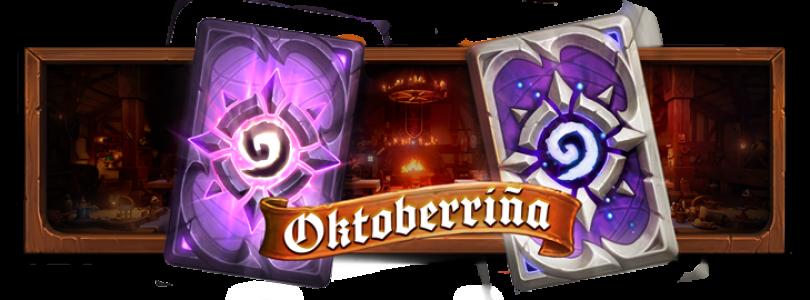 Hearthstone y Twitch anuncian la Oktoberriña y botín de Twitch Prime