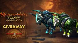 Sorteamos 100 monturas de Neverwinter: Tomb of Annihilation para PS4 y Xbox One