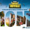 Fortnite BR llega a los 10 millones de jugadores y prepara novedades