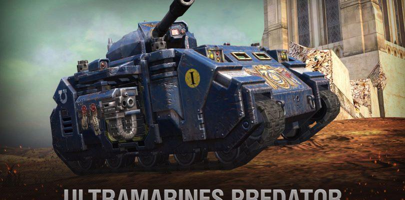 Los tanques de Warhammer 40K llegan a World of Tanks Blitz