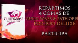 Repartimos 4 copias de Guild Wars 2: Path of Fire Edición Deluxe