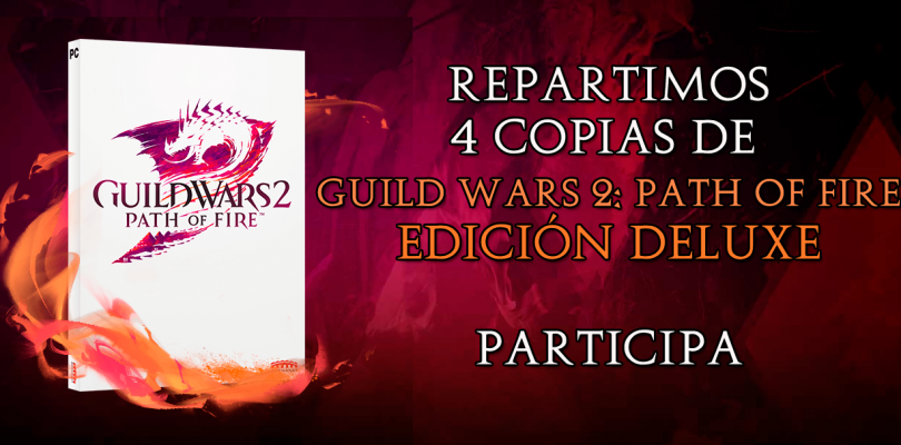 Repartimos 4 copias de Guild Wars 2: Path of Fire Edición Deluxe