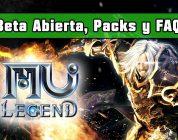 MU Legend – Hablamos de la Beta Abierta, los packs de fundadores y otras preguntas