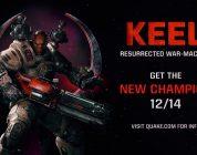 Ya disponible la actualización de diciembre de Quake Champions