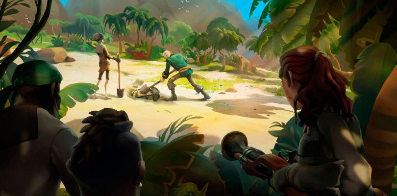 Nuevas armas, tiendas, progresión de leyenda y una nueva zona próximamente en Sea of Thieves