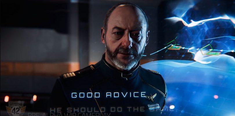 Una hora de gameplay de Squadron 42 en el especial navideño de Star Citizen