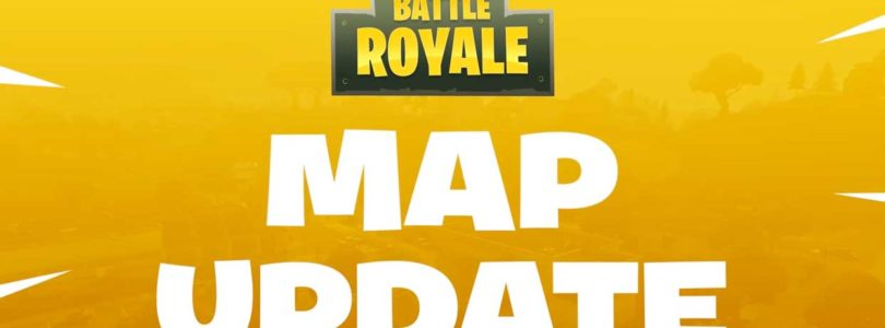 Fortnite Battle Royale actualiza su mapa de juego