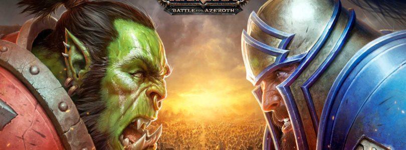 ¡El parche previo a Battle for Azeroth estará disponible el 18 de julio!