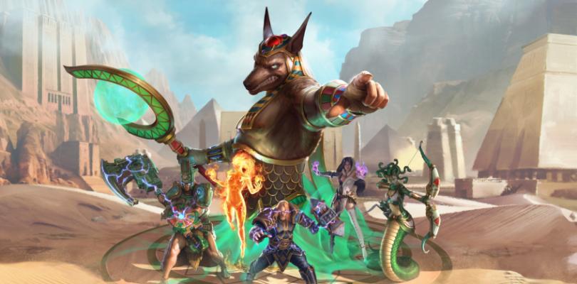 Hand of the Gods, el SMITE de cartas, ya tiene fecha de lanzamiento